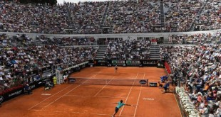 Federer Anderson Rome 2015