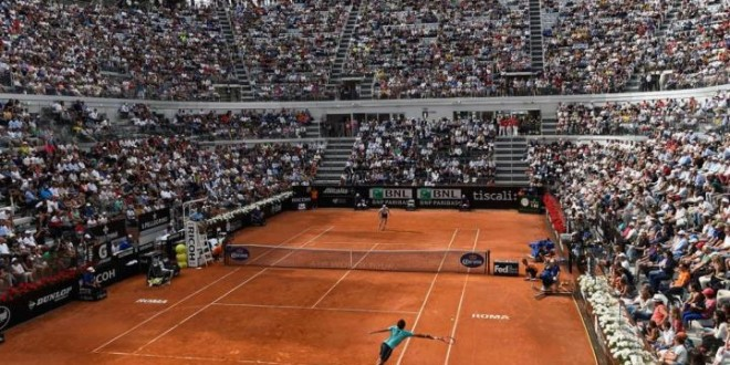 Federer Anderson Rome 2015