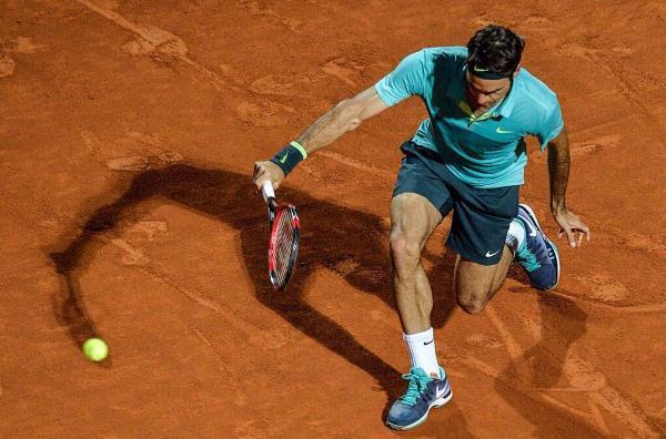 Federer Cuevas Rome 2015