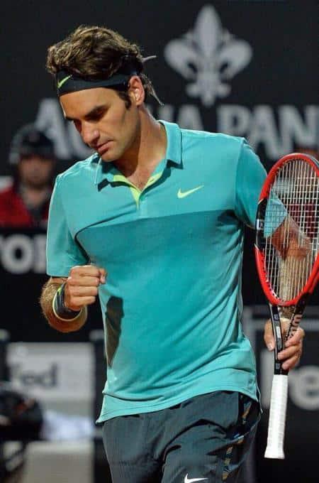 Federer Defeat Cuevas Rome 2015