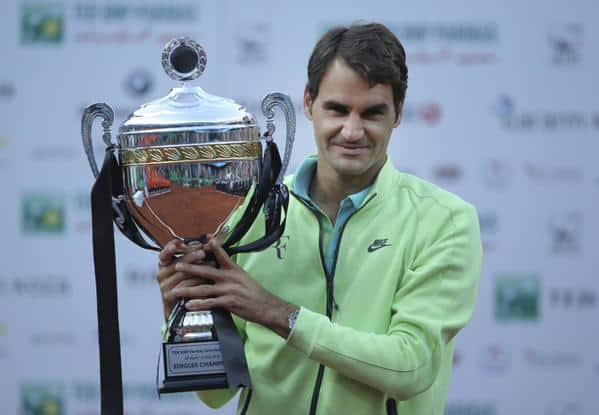 Federer Defeats Cuevas Istanbul 2015
