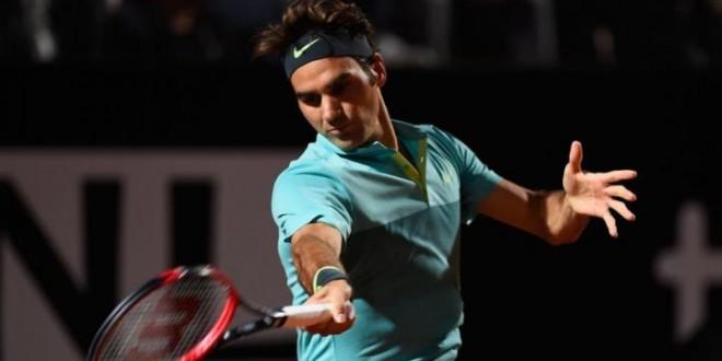 Federer Defeats Wawrinka Rome 2015