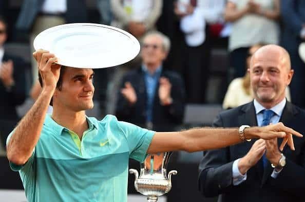 Federer Djokovic Rome 2015