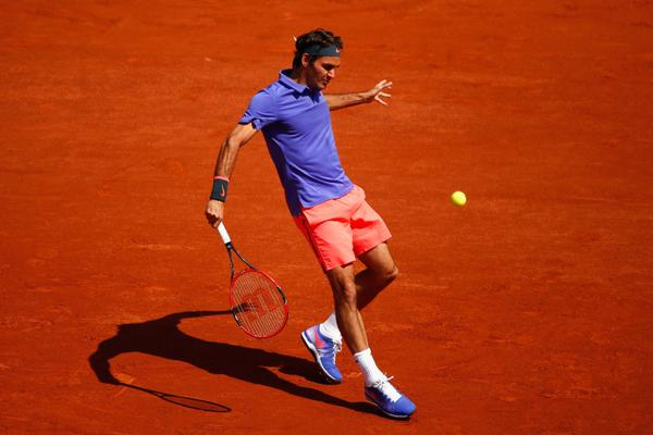 Federer Falla French Open 2015