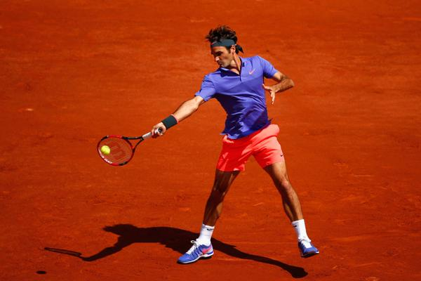 Federer French Open 1st Round 2015