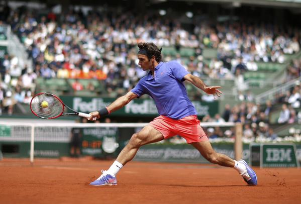 Federer French Open Third Round 2015