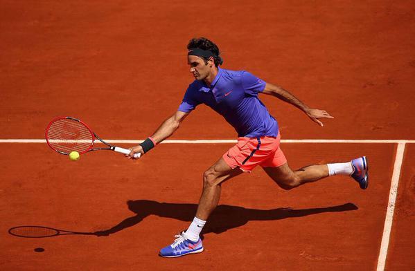 Federer Granollers Roland Garros