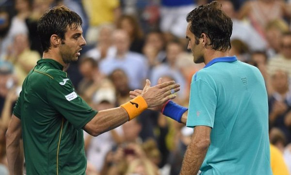 Federer Granollers USO 2014