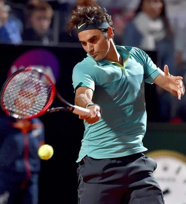 Federer Makes Rome Final 2015