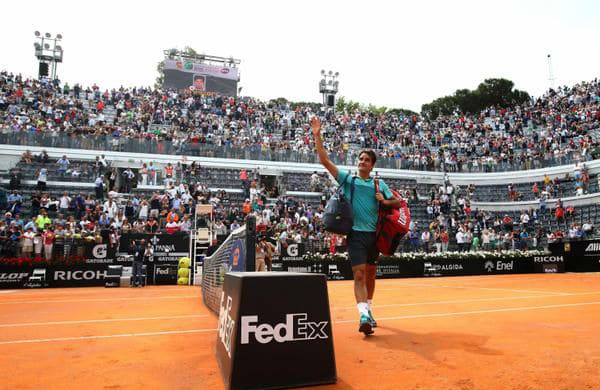 Federer Makes Rome Semi Finals 2015