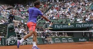 Federer Roland Garros Day 1 2015