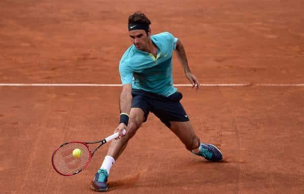 Federer Rome 3rd Round 15