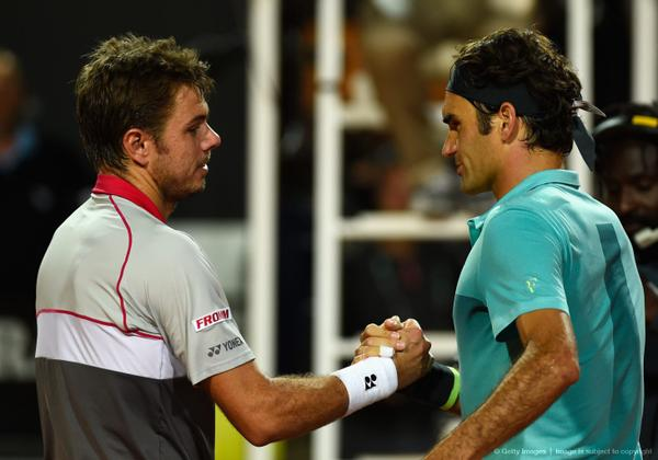 Federer Wawrinka Rome Semi Final