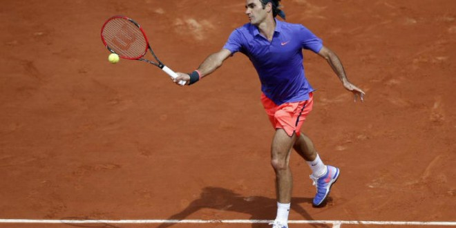 Federer defeats Granollers French Open 2015