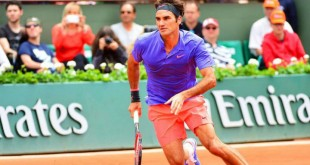 Federer Defeats Monfils French Open 2015
