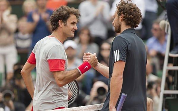 Federer Gulbis French Open 2014