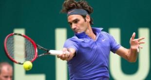 Federer Gulbis Halle 2R 2015