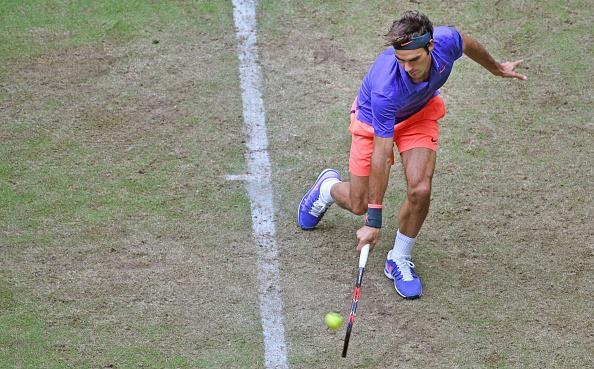 Federer Halle 2nd Round 2015