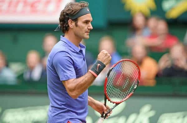 Federer Halle Final 2015