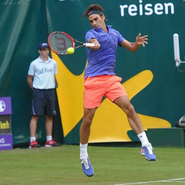 Federer Halle Gulbis 2015
