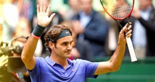 Federer Karlovic Halle 2015