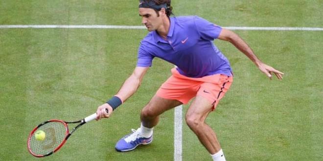 Federer Kohlschreiber Halle 2015