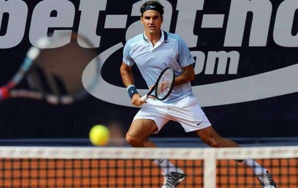 Federer Mayer Hamburg 2013