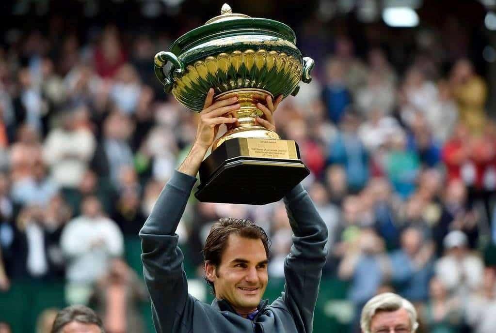 Federer Seppi Halle 2015