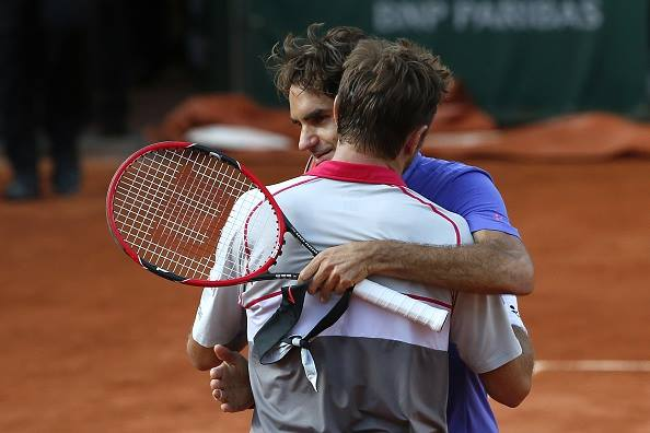Federer Wawrinka French Open 2015