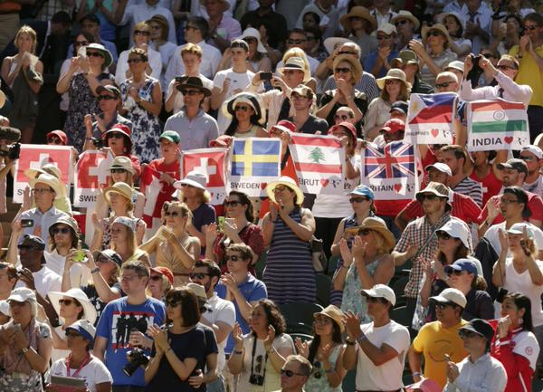 About Wimbledon 2015