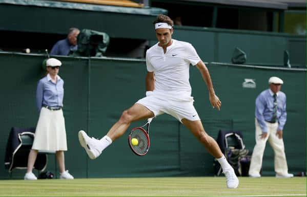 Federer Querrey Wimbledon