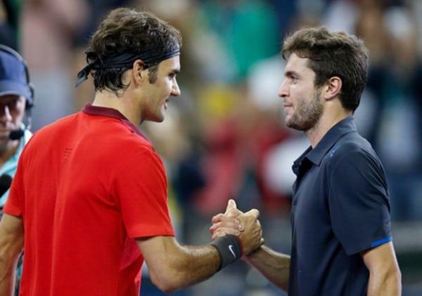 Federer Simon Shanghai