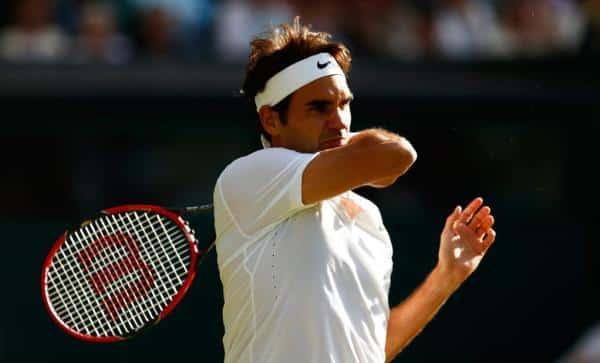 Federer Wimbledon 4th Round 2015
