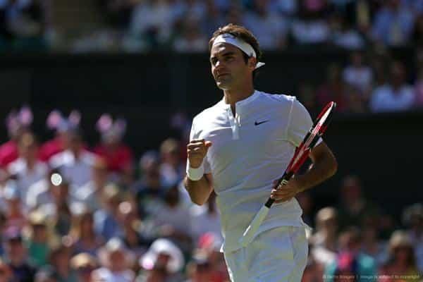 Federer defeat Groth Wimbledon 15