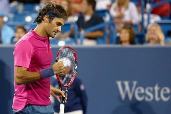 Federer Beats Anderson Cincinnati 2015