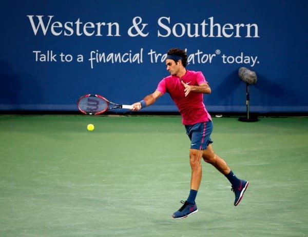 Federer Cincinnati 2nd Round 2015