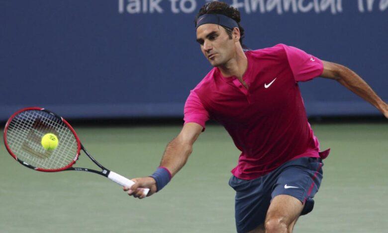 Federer Defeat Lopez Cincinnati 2015