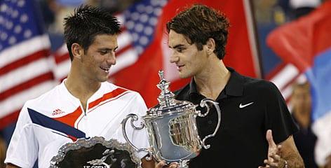 Federer Djoker USO 2007