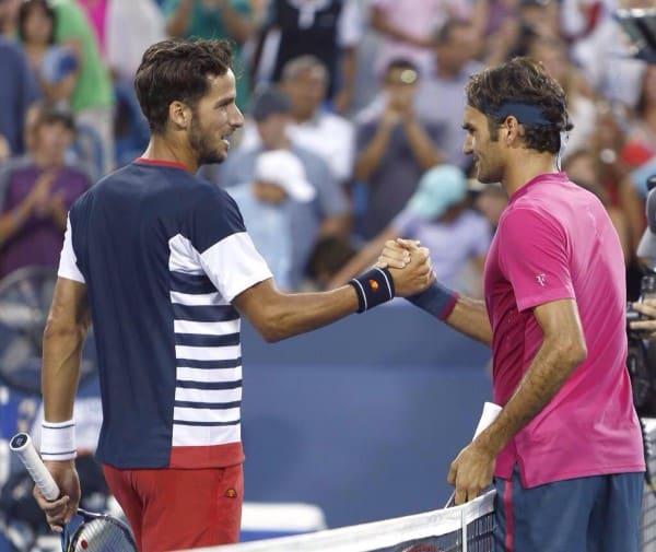 Federer Lopez Cincy 2015