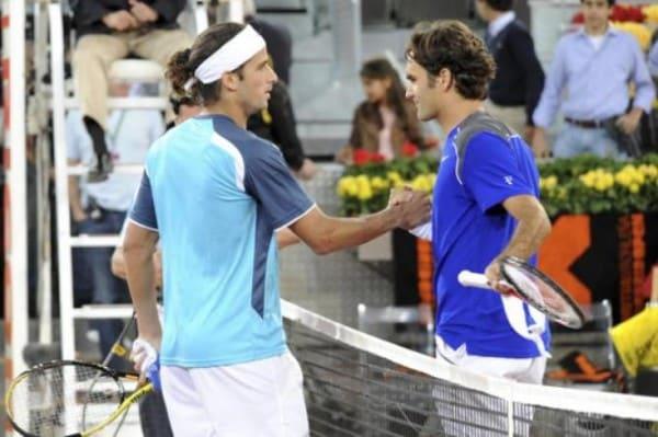 Federer Lopez Madrid 2010