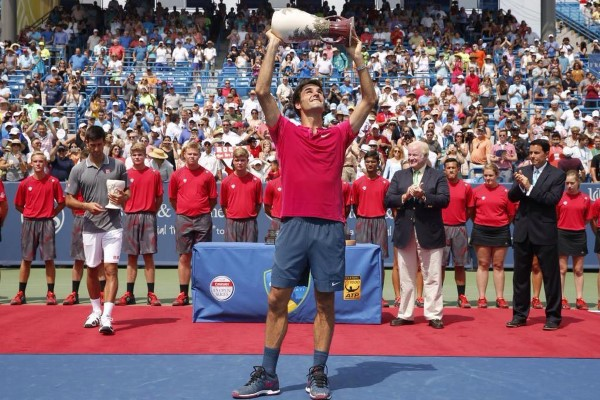 Federer Wins 7th Cincinnati 2015