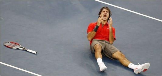 Federer Wins USO 2008