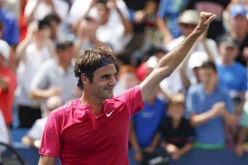 Federer defeat Djokovic Cincinnati 2015