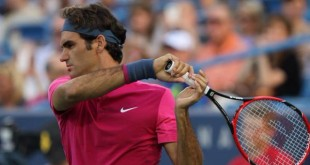Federer vs Anderson Cincinnati 2015