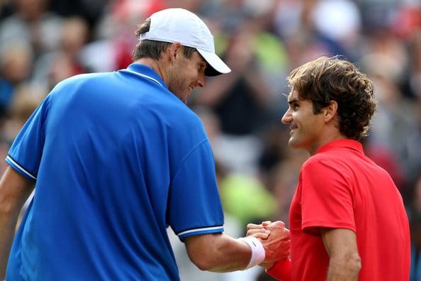 Federer Isner Olympics