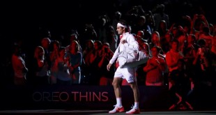 Federer Isner US Open Night Session 2015
