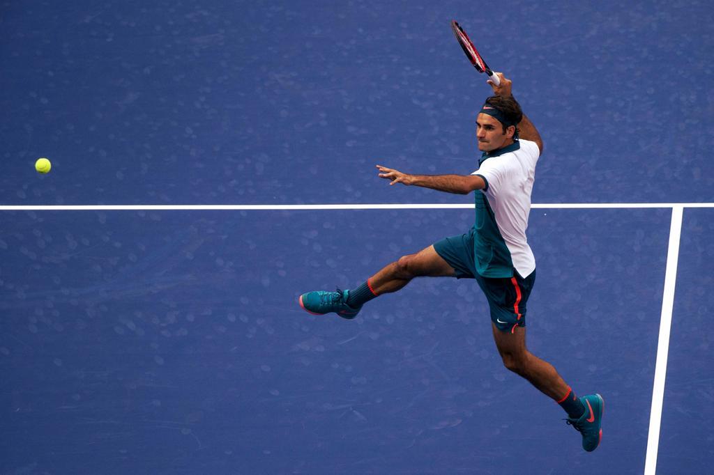 Federer Mayer US Open