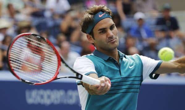 Federer US Open 2015 Mayer