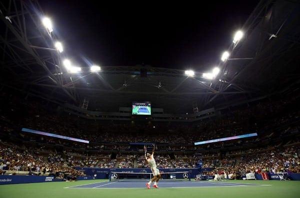 Federer US Open 2nd Round 2015