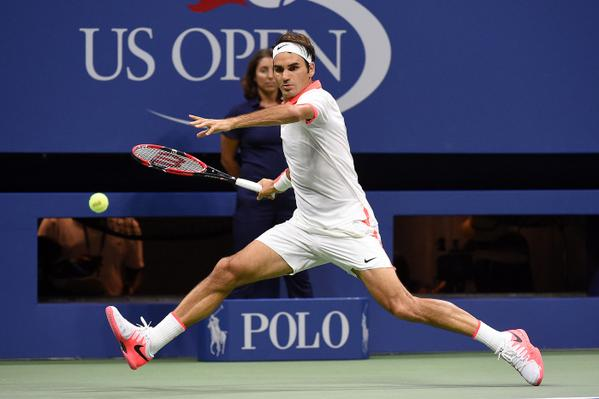 Federer US Open 4th Round 2015